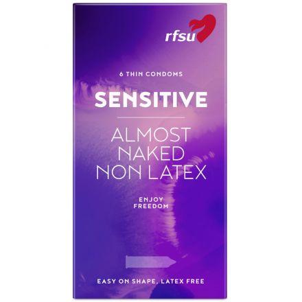 RFSU So Sensitive Lateksfri Kondomer 6 stk