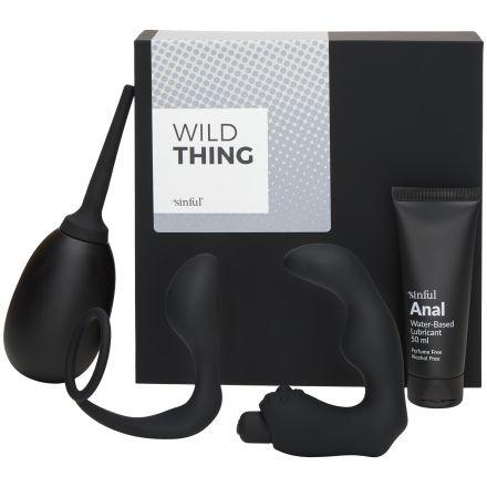 Sinful Wild Thing Sexleketøysboks med A-Z Guide