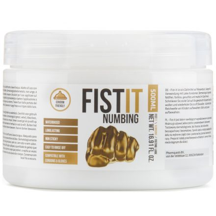 Fist It Numbing Bedøvende Glidemiddel 500 ml