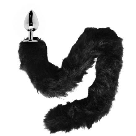 Furry Fantasy Black Panther Tail Analplugg