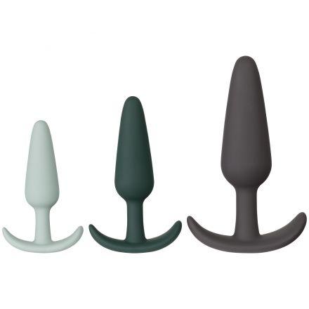 Amaysin Triple Butt Plug Sett