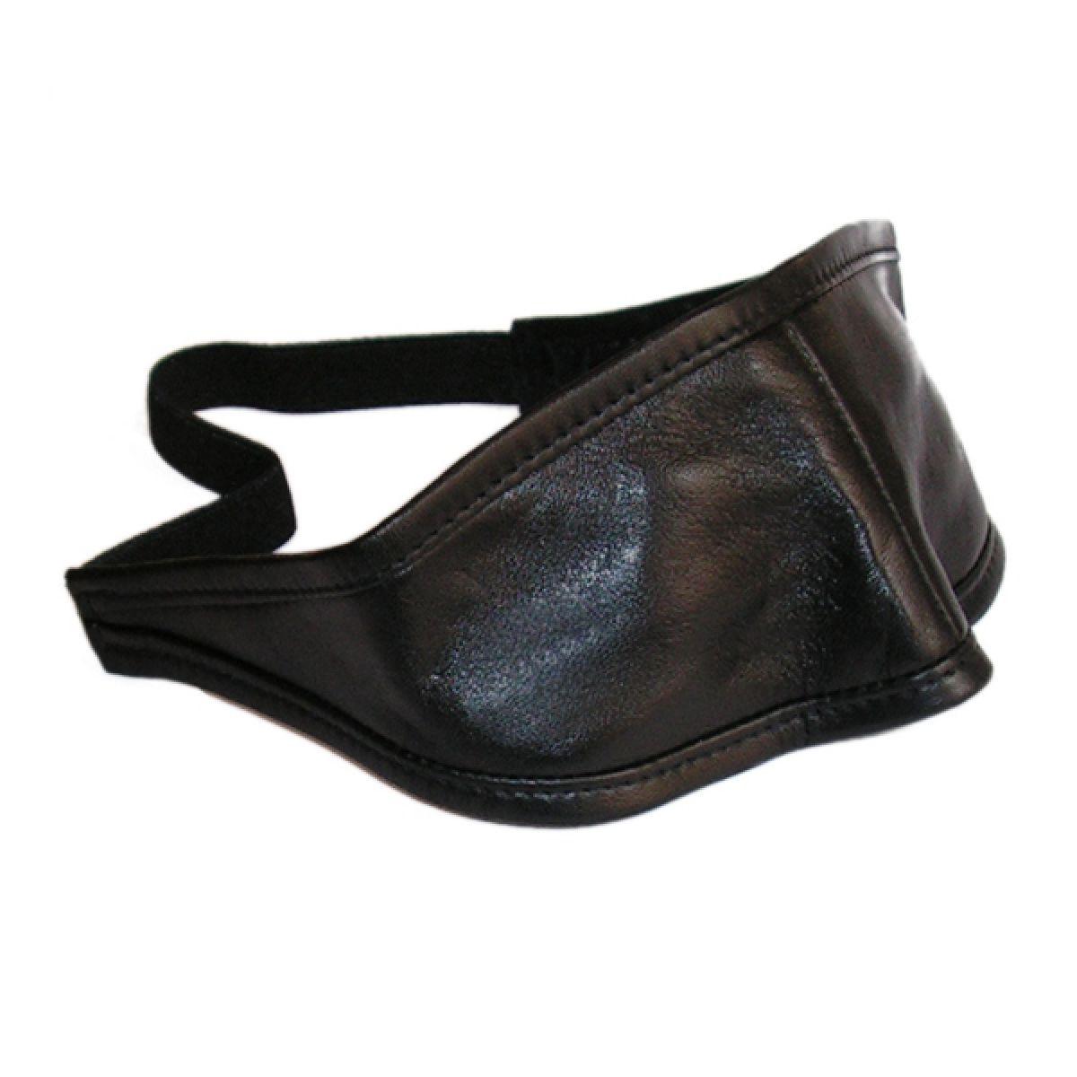 Læder blindfold