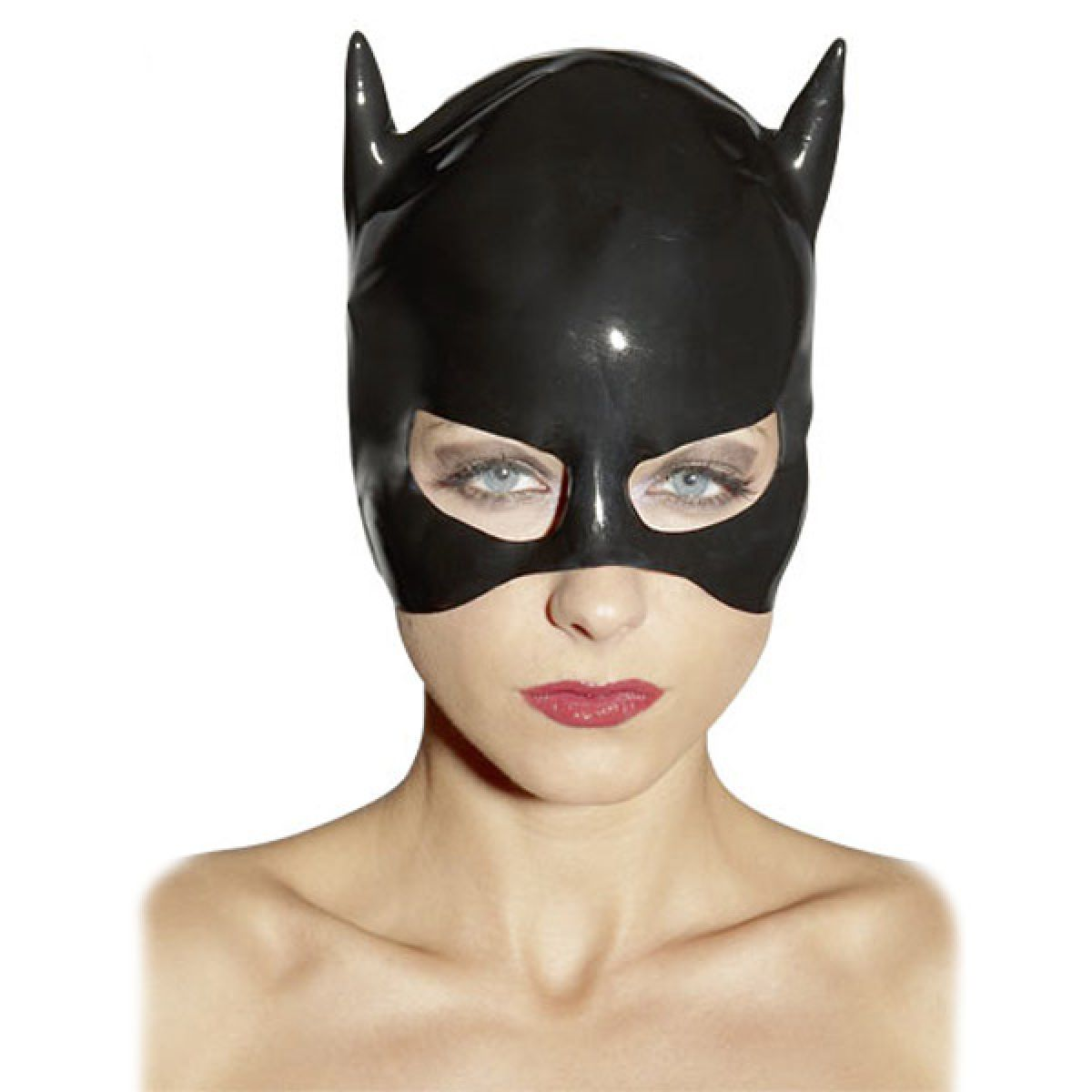 Latex Katte Maske