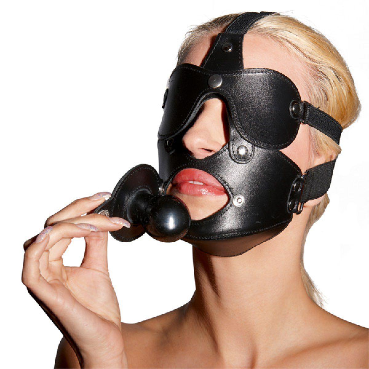 Maske Med Mundknebel