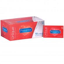 Pasante Unique Lateksfrie Kondomer 72 stk