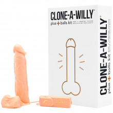 Clone-A-Willy Plus Balls Klon Din Penis  bilde av emballasje 1