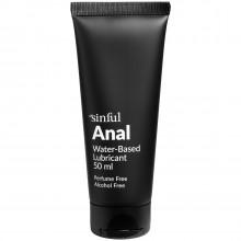 Sinful Anal Glidemiddel 50 ml produkt i hånd 1