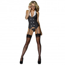 Dreamgirl Sekretær Kostyme med Strømpeholder