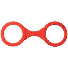 Quickie Cuffs Silikon Håndjern Medium Rød  1