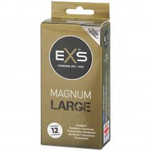 EXS Magnum Large Kondomer 12 stk Emballasjebilde 1