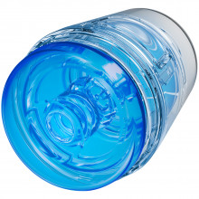 Main Squeeze Pop-Off Optix Masturbator Crystal Blue