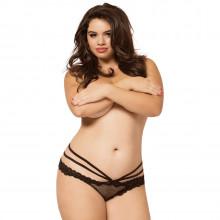 Seven til Midnight Laila Panty åpen truse plus size