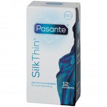 Pasante Silk Thin Kondomer 12 stk bilde av emballasje 90