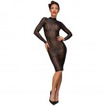 Noir Handmade transparent kjole med striper