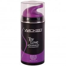 Wicked Toy Love gel til sexleketøy 100 ml  1