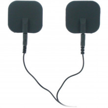 Zeus Elektroder med Silikonputer  1