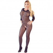 Mandy Mystery Blonde Catsuit  1