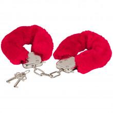 Baseks Håndjern med Rød Pels produktbilde 1