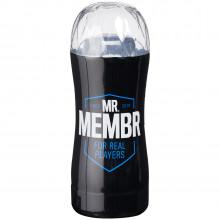 Mr. Membr Edge Gjennomsiktig Masturbator bilde av emballasje 1
