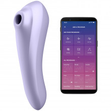Satisfyer Dual Pleasure Suction Vibrator