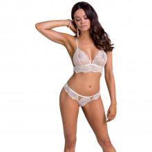 Casmir Inoe BH-Sett med Blonder i Hvitt Produktbilde på modell 1