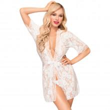 Penthouse Sweet Retreat White Kimono Product model 1