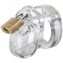 CB-X Mini Me Clear Chastity Device 3.18 cm Product 1