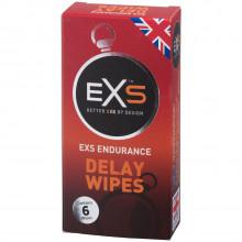 EXS Endurance Delay Intimservietter 6 stk Emballasjebilde 1