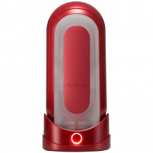 TENGA Flip Zero Red Warmer Sett