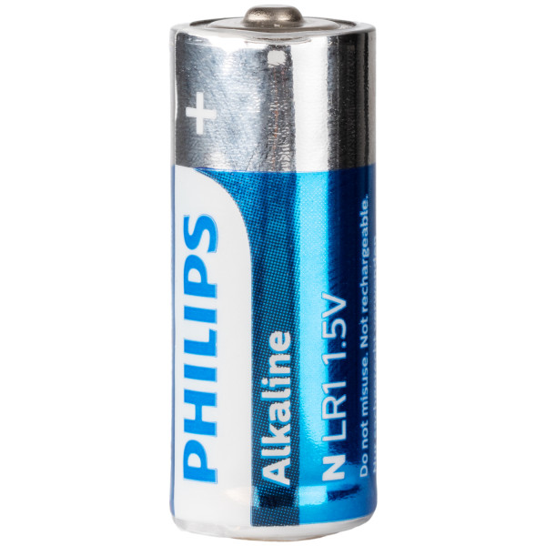 Philips Alkaline LR1 1.5V Batteri  100
