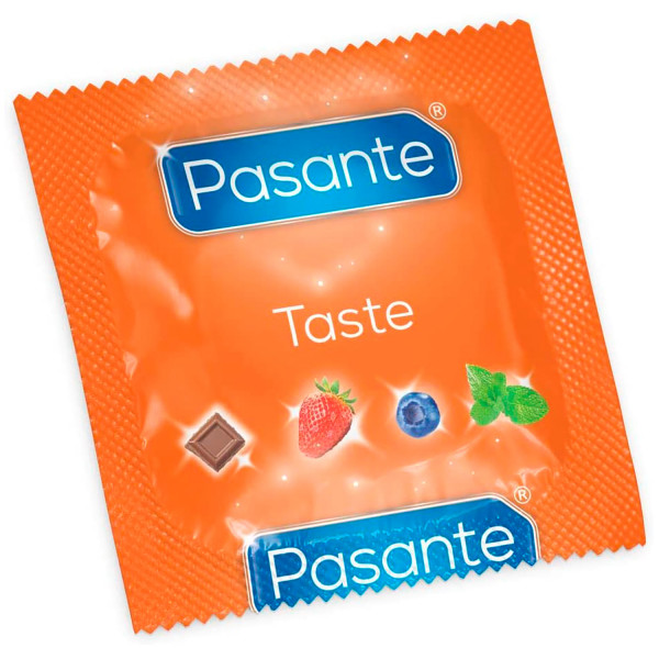 Pasante Taste Mixed Flavoured Kondomer 12 stk.  2