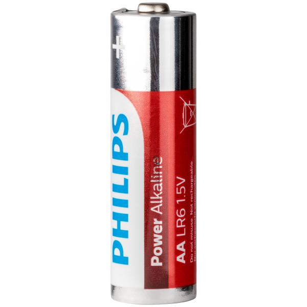 Philips LR06 AA Alkaline Batterier 4 stk.  100