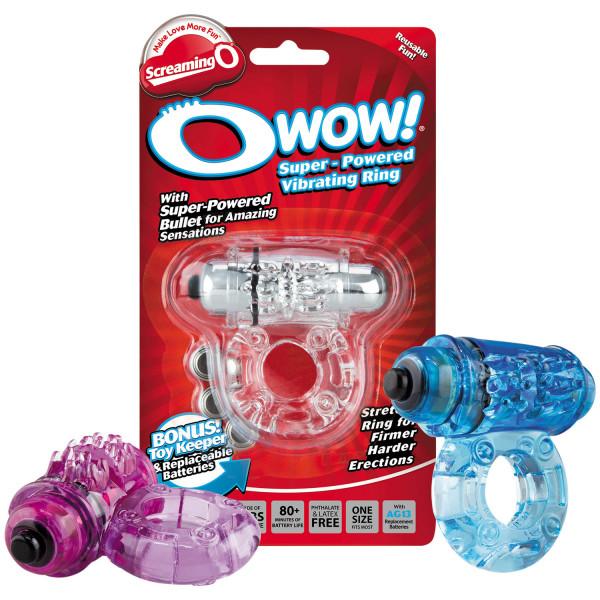 Screaming O OWow Vibrerende Penisring  4