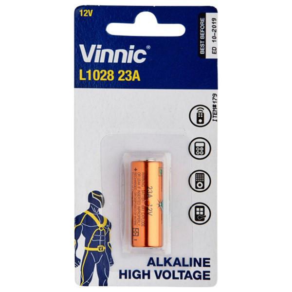 A23 12V Alkaline Batteri - 1 stk.  1