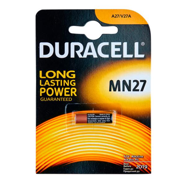 Duracell A27 12V Batteri - 1 stk.  1