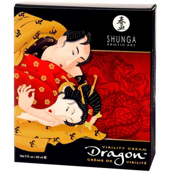 Shunga Dragon Stimulerende utsettelseskrem 60 ml  2