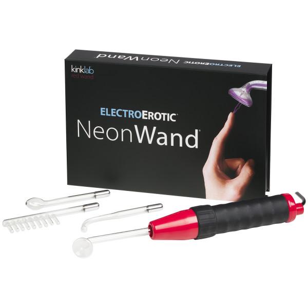 Kinklab Neon Wand Elektrosex Violet Wand Kit bilde av emballasje 1
