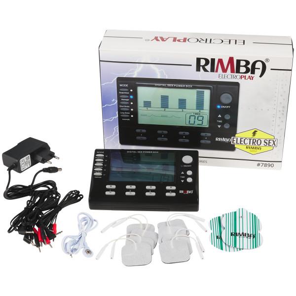 Rimba Digital Elektrosex Boks 4 kanaler bilde av emballasje 1