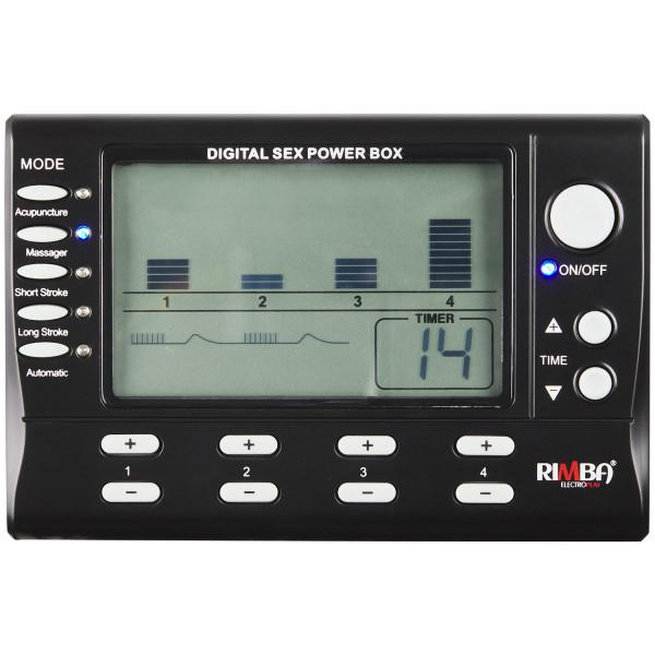 Rimba Digital Elektrosex Boks 4 kanaler bilde av emballasje 2