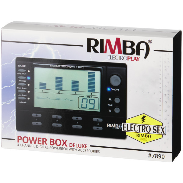 Rimba Digital Elektrosex Boks 4 kanaler bilde av emballasje 90