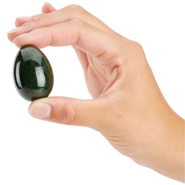 Jade Egg til Yoni Massasje og Bekkenbunnstrening  3