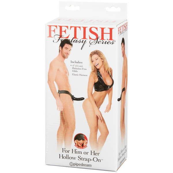 Fetish Fantasy Hollow Strap-on Unisex bilde av emballasje 90