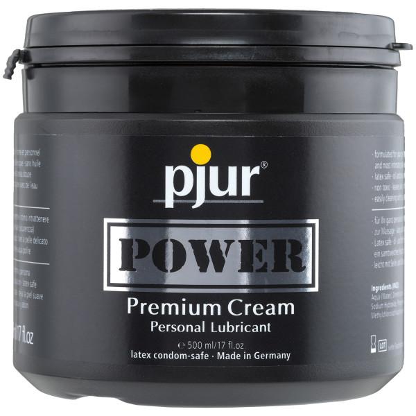 Pjur Power Creme Glidemiddel 500 ml  1