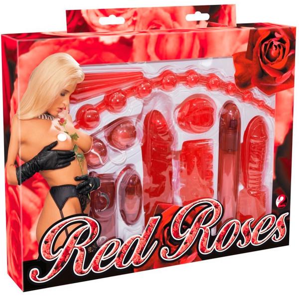Red Roses Sexleketøy Startpakke 9 deler  11