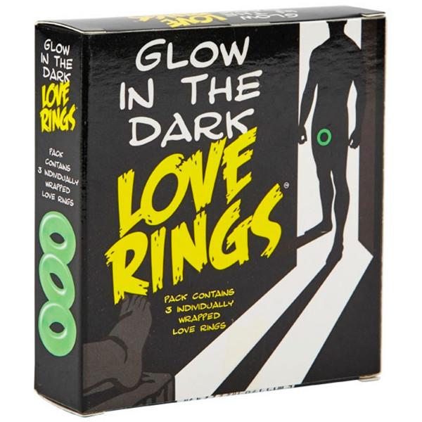Glow In The Dark Selvlysende Penisringer  2