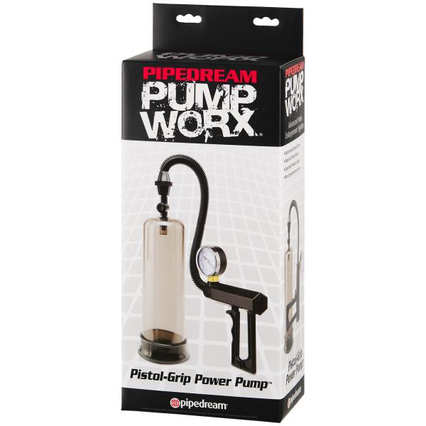 Pump Worx Pistol Grip Penispumpe med Trykkmåler bilde av emballasje 90