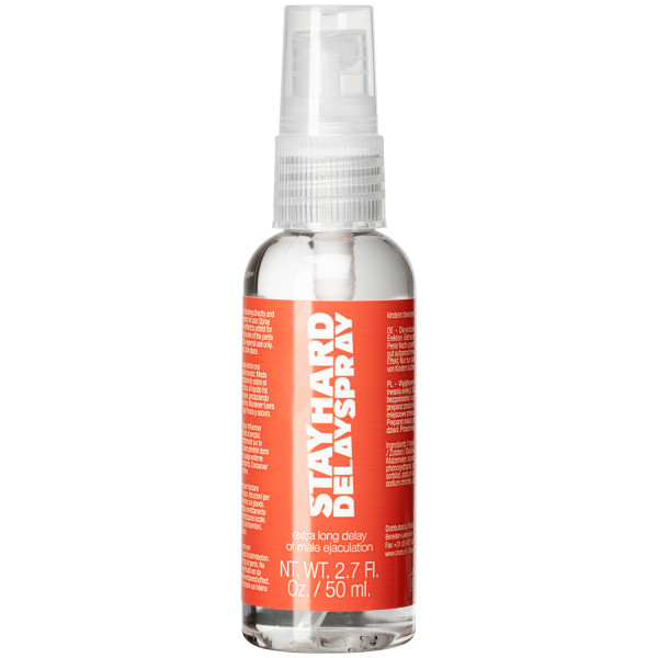 Stay Hard Spray mot Tidlig Utløsning 50 ml  1