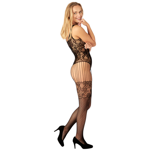 Nortie Astrid Bunnløs Blonde Catsuit produkt på modell 2