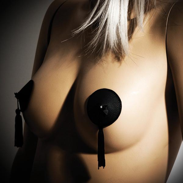 Læder brystsmykker