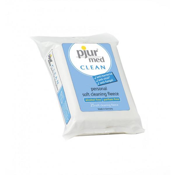 Pjur 2i1 Clean Intimservietter  2